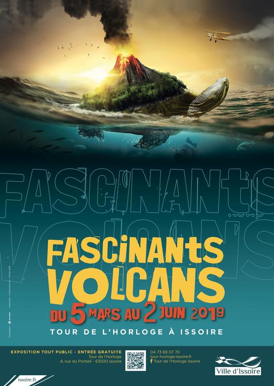 "Exposition ""Fascinants volcans""."
